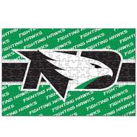 North Dakota Fighting Hawks 150 Piece Puzzle