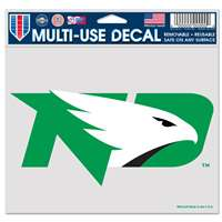 "North Dakota Fighting Hawks Ultra Decal 4.5"" x 6"""