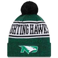 North Dakota Fighting Hawks New Era Banner Knit Beanie