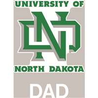 North Dakota Fighting Sioux Transfer Decal - Dad