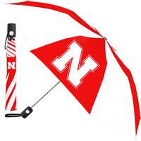 Nebraska Cornhuskers Umbrella - Auto Folding