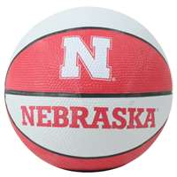 Nebraska Cornhuskers Mini Rubber Basketball