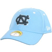 North Carolina New Era Concealer Fitted Hat - Blue