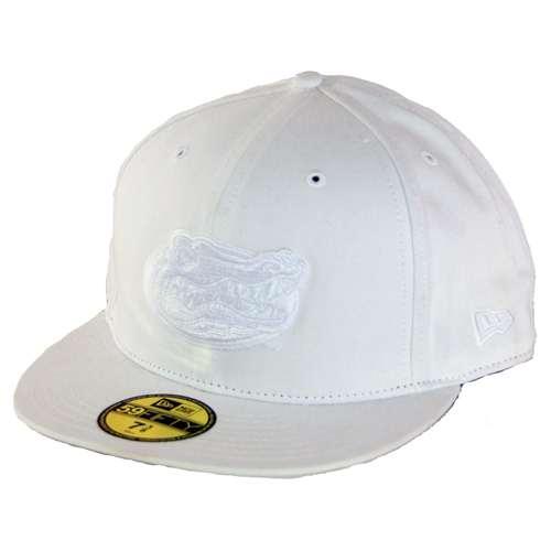 618749c04ef Florida New Era 59fifty White On White Hat (5950)
