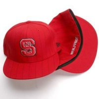 North Carolina State New Era Pinstripe 59fifty Hat (5950)