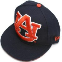 Auburn New Era 59fifity Big One Fitted Hat (5950)
