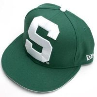 Michigan State New Era 59fifity Big One Fitted Hat (5950)