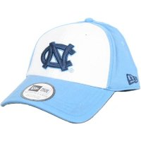 North Carolina New Era Hat - White Front Foundation Cap