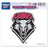 "New Mexico Lobos Ultra Decal 5"" x 6"""