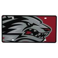 New Mexico Lobos Full Color Mega Inlay License Plate