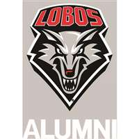 New Mexico Lobos Transfer Decal - Alumni