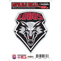New Mexico Lobos Repositionable Vinyl Decal