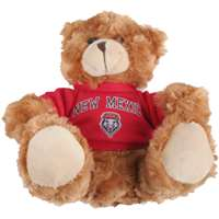 New Mexico Lobos Stuffed Bear