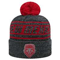 New Mexico Lobos Top of the World Sock It 2 Me Knit Beanie