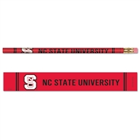 North Carolina State Wolfpack Pencil - 6-pack