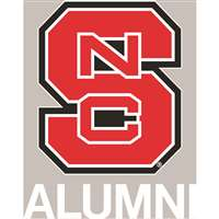North Carolina State Wolfpack Transfer Decal - Alumni
