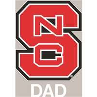North Carolina State Wolfpack Transfer Decal - Dad