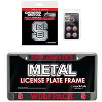 North Carolina State Wolfpack 3 Piece Automotive Fan Kit