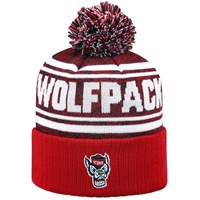 North Carolina State Wolfpack Top of the World Driven Pom Knit