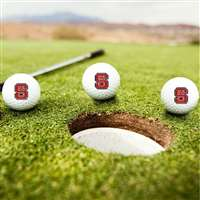 North Carolina State Wolfpack Golf Balls - Set of 3