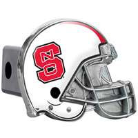 North Carolina State Wolfpack Trailer Hitch Receiver Cover - Helmet
