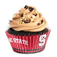 North Carolina State Wolf Pack Cupcake Liners - 36 Pack