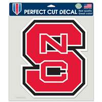 "North Carolina State Wolfpack Full Color Die Cut Decal - 8"" X 8"""