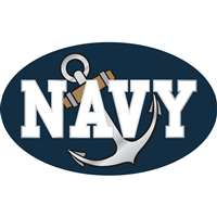 Navy Midshipmen Die-Cut Transfer Decal