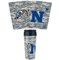 Navy Midshipmen 16oz Plastic Travel Mug