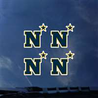 Navy Midshipmen Transfer Decals - Set of 4