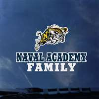 Navy Midshipmen Transfer Decal - Family