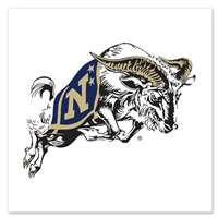Navy Midshipmen Temporary Tattoo - 4 Pack