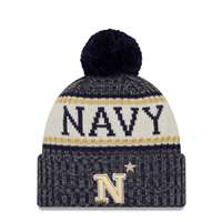 Navy Midshipmen New Era Sport Knit Beanie