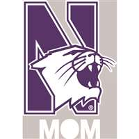 Northwestern Wildcats Transfer Decal - Mom