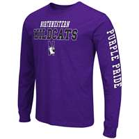 Northwestern Wildcats Game Changer Long Sleeve T-Shirt