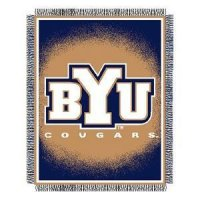 Byu Woven Jacquard Throw