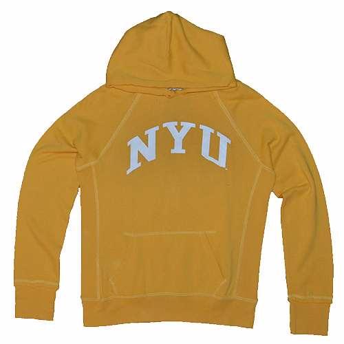 Nyu Hooded Sweatshirt - Women s Hoody By League - Yellow 4e1c263c6d0c