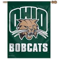 "Ohio Bobcats Banner/vertical Flag 27"" X 37"""