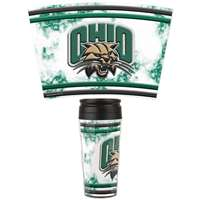 Ohio Bobcats 16oz Plastic Travel Mug