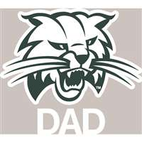 Ohio Bobcats Transfer Decal - Dad