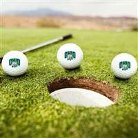 Ohio Bobcats Golf Balls - Set of 3