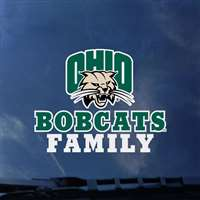 Ohio Bobcats Transfer Decal - Family