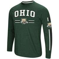 Ohio Bobcats Colosseum Touchdown Pass L/S T-Shirt
