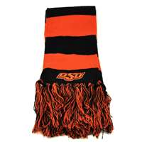 Oklahoma State Cowboys Top of the World Stripe Scarf