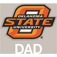 Oklahoma State Cowboys Transfer Decal - Dad