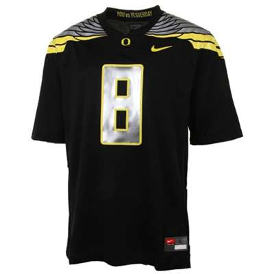 100% authentic 55876 5760b Nike Oregon Ducks Youth/Preschool Replica Football Gameday Jersey - Black  #8 Wings