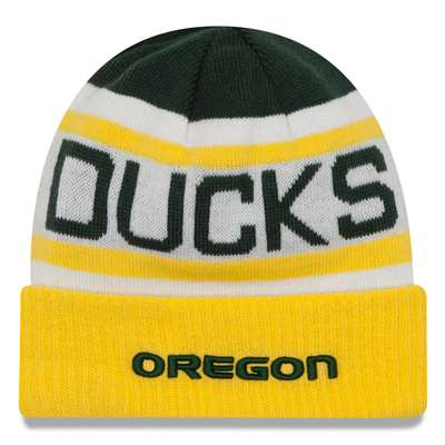 brand new 6fdc5 1dcfc Oregon Ducks New Era Biggest Fan 2.0 Beanie