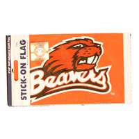 Oregon State Beavers Stick-on Cloth Flag Decal