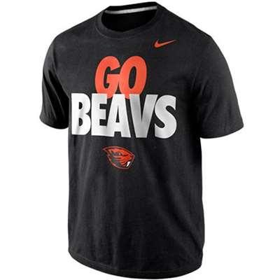 d0bfcda92 Nike Oregon State Beavers Youth Local T-Shirt - Black