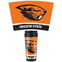 Oregon State Beavers 16oz Plastic Travel Mug